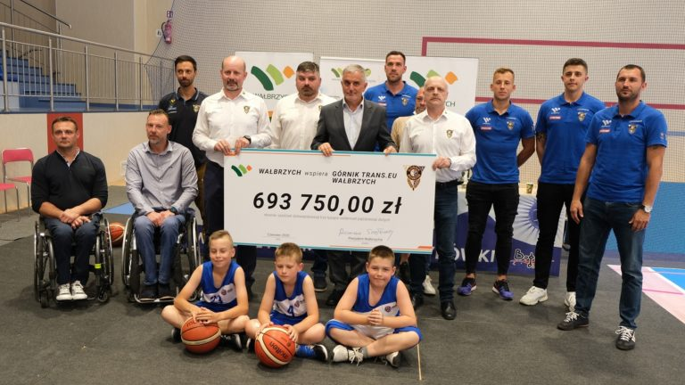 Koszykówka: Miasto wspiera Górnika finansowo!