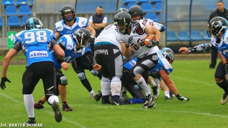American Football: Minersi wracają na tarczy
