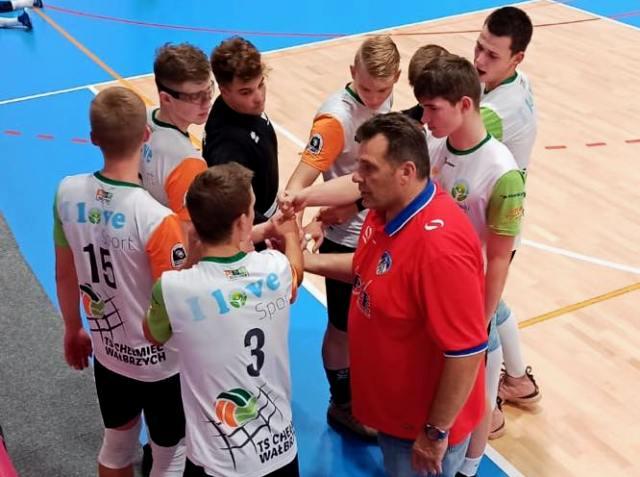 Siatkówka: Juniorzy Chełmca ogrywają Spartakusa