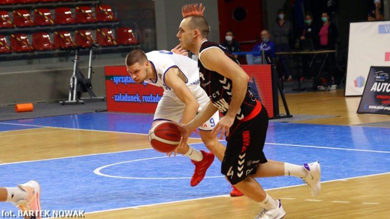 Koszykówka: Górnik na remis