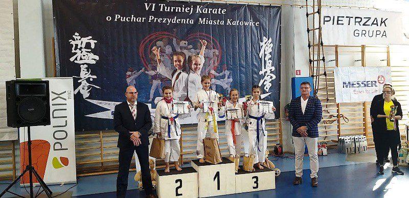 Nasi karatecy błyszczą w Katowicach!