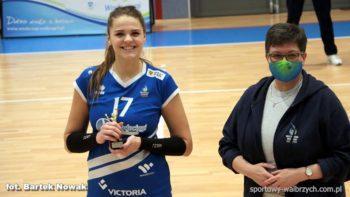 Siatkówka: Karolina Olczyk po wygranym meczu