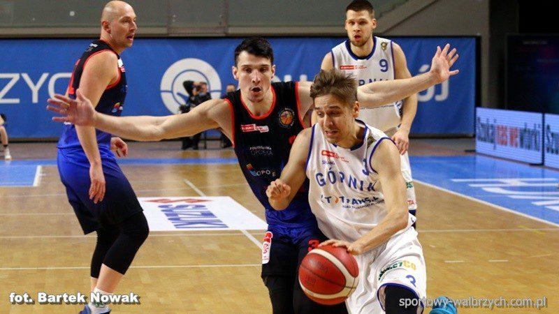 Koszykówka: Fart... ale szczęście sprzyja lepszym
