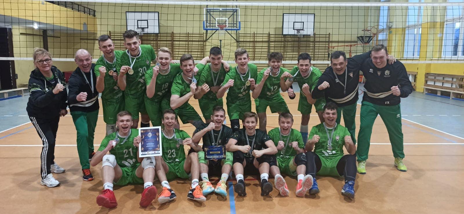 Siatkówka: Juniorzy Chełmca wicemistrzem Dolnego Śląska!