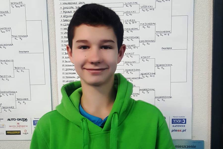Tenis: Marcin Andrzejczak z brązowym medalem MP U16