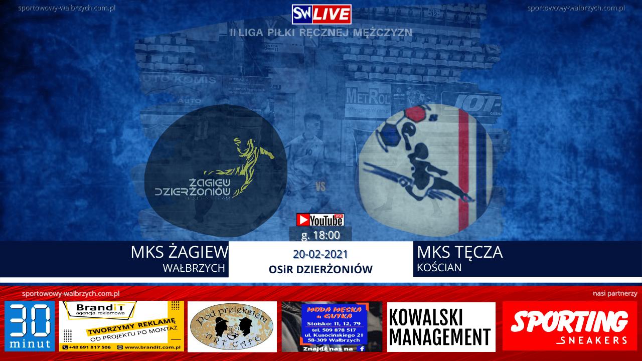 LIVE: MKS ŻAGIEW DZIERŻONIÓW - MKS TĘCZA KOŚCIAN