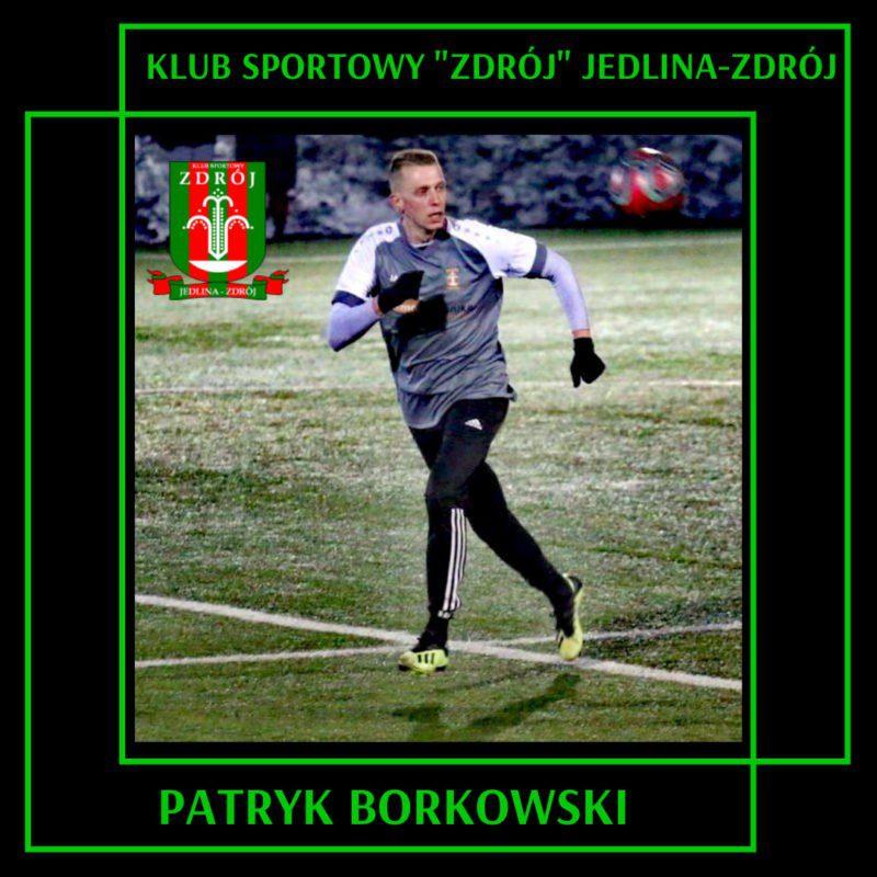 Transfery: Patryk Borkowski w Jedlinie!!