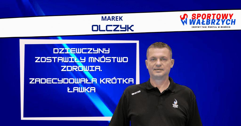 Trener Olczyk ocenił występ