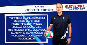 Kacper Jesiołowski o Dolnośląskim Finale w siatkówce plażowej juniorek