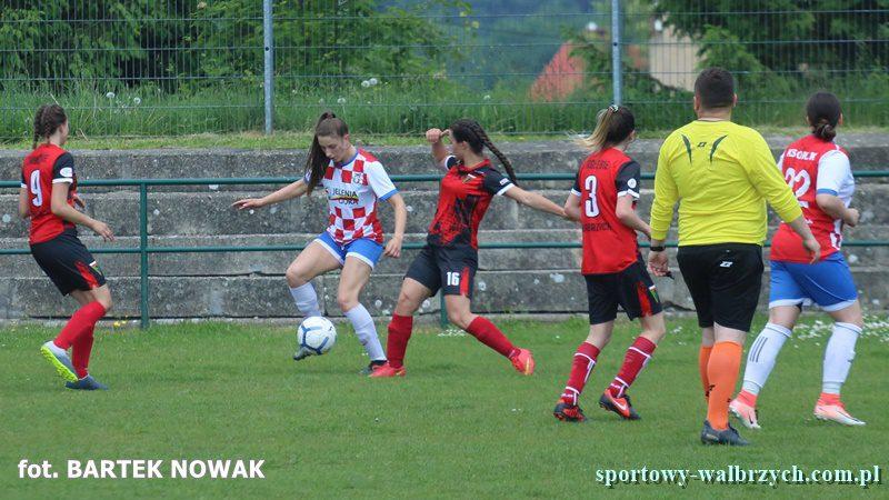 Zagłębie Wałbrzych - Orlik Jelenia Góra, Sportowy Wałbrzych TV, kobiecy futbol
