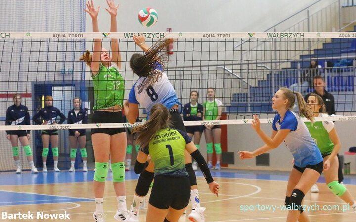 Chełmiec Wodociągi Wałbrzych - Volley Wrocław Sportowy Wałbrzych Dolnośląska Liga Juniorek