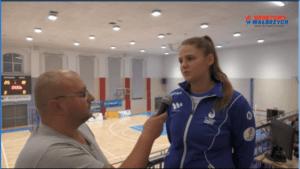 Karolina Olczyk po meczu z Chrząstowicami