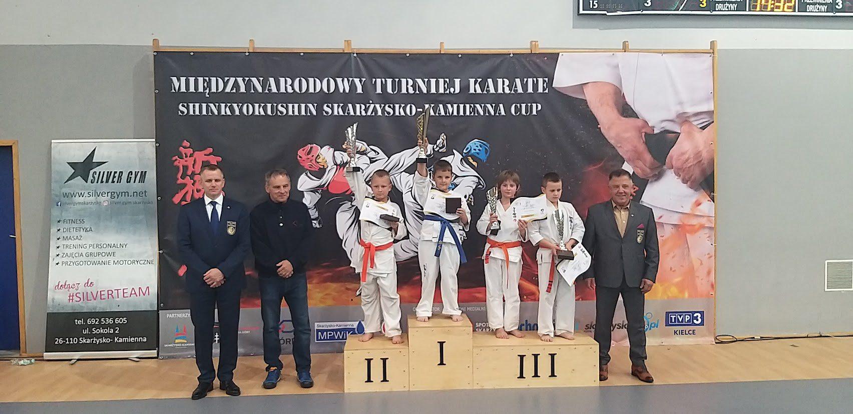 Nasi karatecy ponownie wyśmienicie